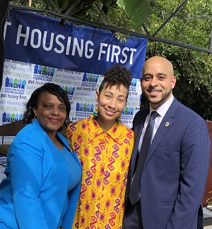 Put Housing First March - Morris, Patterson, Duplessis